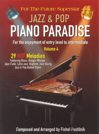 Jazz & Pop Piano Paradise 4