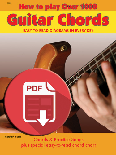 How to Play Over 1000 Guitar Chords (B 701DIG)